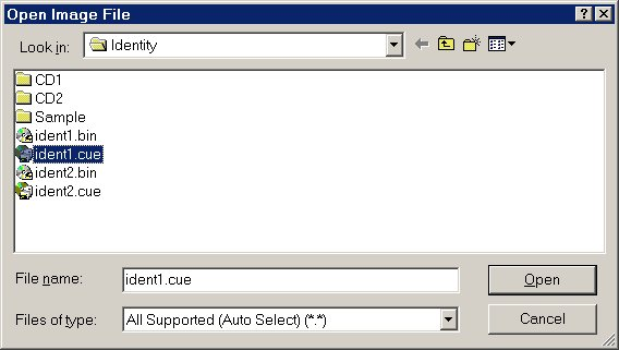 Extracting SVCDs