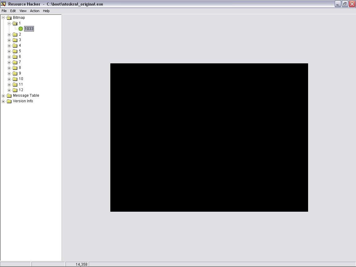Modifying your Windows XP Boot logo
